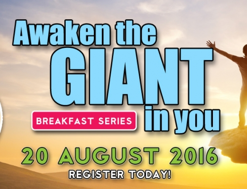 Awaken The Giant in You – 20 August 2016