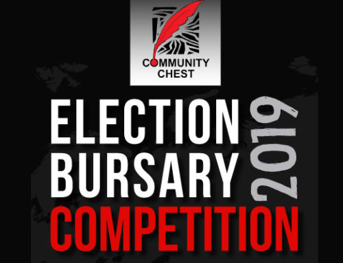 Community Chest Launches Election Bursary Competition